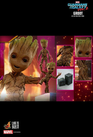 Guardians of the Galaxy: Vol. 2 - Groot Life-Size Action Figure Version 2 - Pre-Order