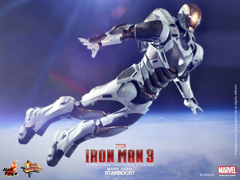 Iron Man 3 - Iron Man Mark XXXIX Starboost 1:6 Scale Action Figure