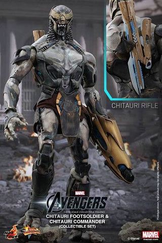 Avengers - Chitauri Soldiers 1:6 Scale Action Figures Set