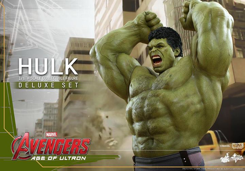 Avengers: Age of Ultron - Hulk Deluxe Set 1:6 Scale Hot Toys Action Figure
