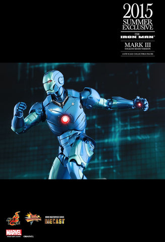 "Iron Man - Mark III Stealth Mode 12"" 1:6 Scale Diecast Action Figure"