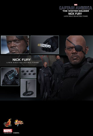 "Captain America: The Winter Soldier - Nick Fury 12"" 1:6 Scale Action Figure"