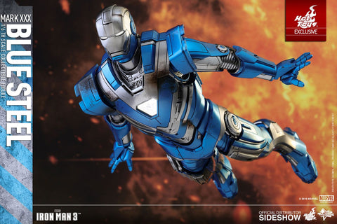"Iron Man - Iron Man Mark XXX Blue Steel 12"" Action Figure"