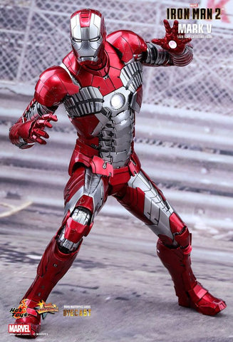 "Iron Man 2 - Mark V Diecast 1:6 Scale 12"" Action Figure - Pre-Order"