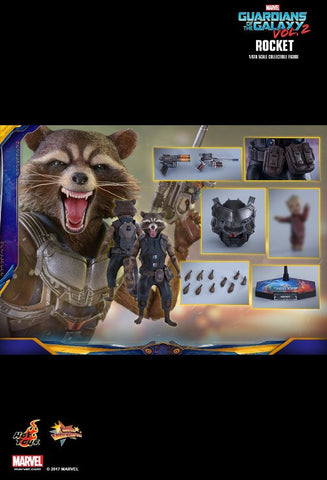 "Guardians of the Galaxy: Vol. 2 - Rocket 12"" 1:6 Scale Action Figure - Pre-Order"