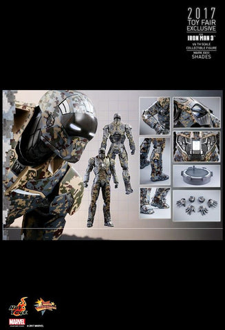 "Iron Man - Mark XXIII Shades 12"" 1:6 Scale Action Figure"