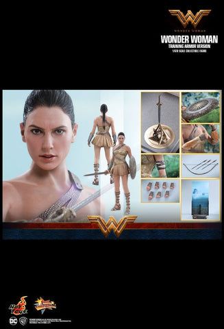 "Wonder Woman Movie - Wonder Woman Training Armor 12"" 1:6 Scale Action Figure - Pre-Order"