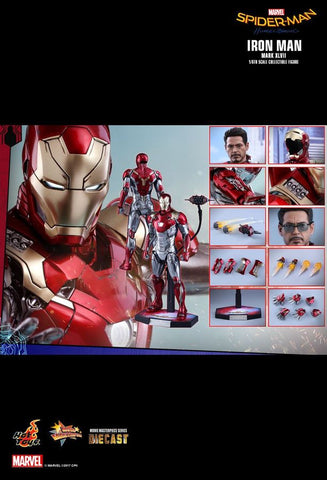 "SpiderMan: Homecoming - Iron Man Mk XLVII 12"" 1:6 Scale Diecast Action Figure - Pre-Order"