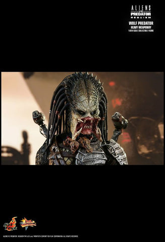 "Alien vs Predator - Wolf Predator Heavy Weaponry 12"" 1:6 Scale Action Figure - Pre-Order"