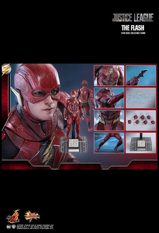 "Justice League (2017) - The Flash 12"" 1:6 Scale Action Figure - Pre-Order"