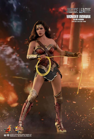 "Justice League (2017) - Wonder Woman Deluxe 12"" 1:6 Scale Action Figure - Pre-Order"