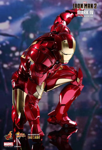 "Iron Man 2 - Mark IV Diecast 12"" 1:6 Scale Action Figure - Pre-Order"