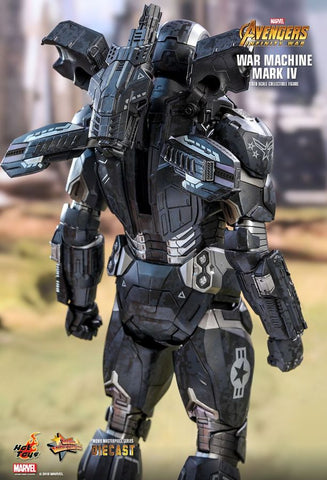 "Avengers: Infinity War - War Machine Mark IV Diecast 12"" 1:6 Scale Action Figure - Pre-Order"