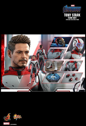 "Avengers: Endgame - Tony Stark Team Suit 12"" 1:6 Scale Action Figure - Pre-Order"