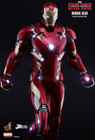 Captain America: Civil War - Iron Man Mark XLVI Power Pose 1:6 Scale Poseable Statue