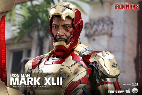 Iron Man - Mark XLII 1:4 Scale Action Figure