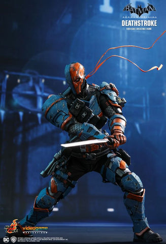 "Batman: Arkham Origins - Deathstroke 12"" 1:6 Scale Action Figure - Pre-Order"