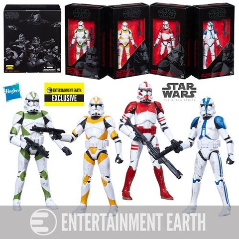 Star Wars - The Black Series Clone Troopers of Order 66 Action Figure Box Set