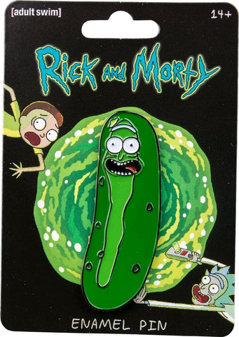 Rick and Morty - Pickle Rick Enamel Pin - Pre-Order
