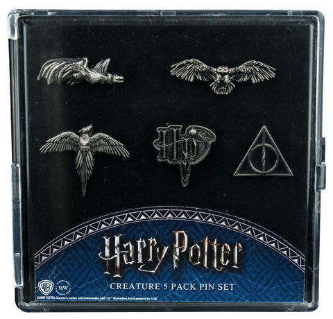 Harry Potter - Creatures Lapel Pin Set - Pre-Order