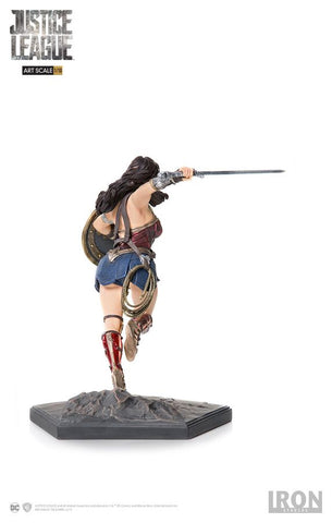 Justice League (2017) - Wonder Woman 1:10 Scale Statue - Pre-Order