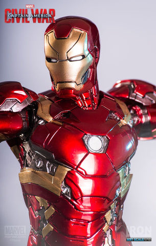 Captain America: Civil War - Iron Man Mark XLVI (46) 1:10 Scale Statue