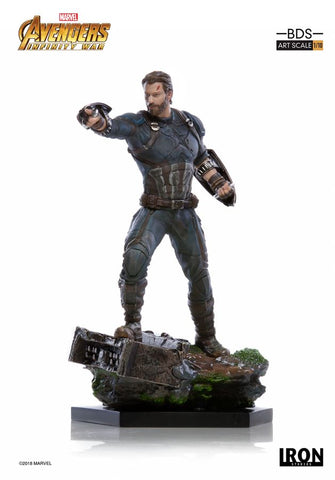 Avengers: Infinity War - Captain America 1:10 Scale Statue - Pre-Order
