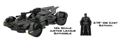 Justice League (2017) - Batmobile 1:24 Scale - Pre-Order