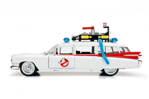Ghostbusters - Ecto-1 1984 Hollywood Rides 1:24 Scale Diecast Vehicle