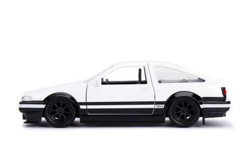Initial D - 1986 Toyota Corolla Trueno AE86 1:32 Scale Diecast Vehicle