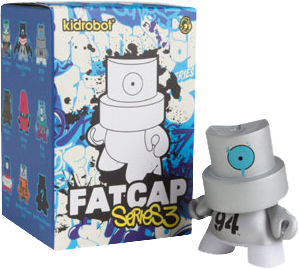 Kidrobot - FatCaps Series 3 Mystery Mini Blind Box Case of 20 Figures
