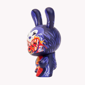 "Dunny - 8"" Dunnibal Dunny Vinyl Figure by I Love Dust"