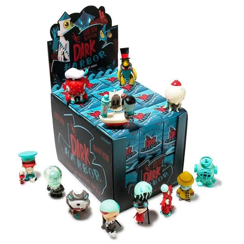 "Dark Harbor by Kathie Olivas - 3"" Dunny Mystery Mini Figures: Case of 24 Blind Boxes"