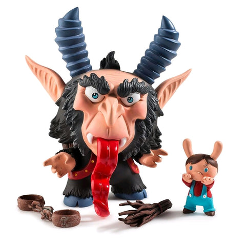 Krampus - 5 Inch Dunny by Scott Tolleson