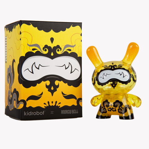 "Dunny - Lemon Drop 3"" Vinyl Figure by Andrew Bell"