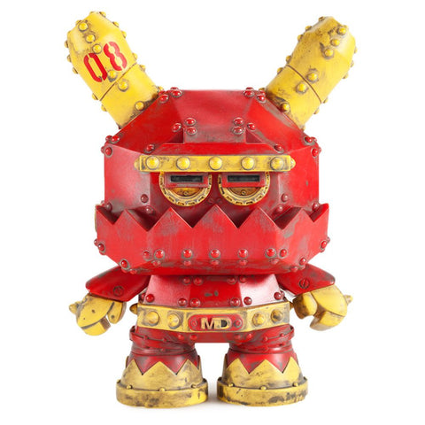 "Dunny - 8"" Mecha Stealth Dunny by Frank Kozik"