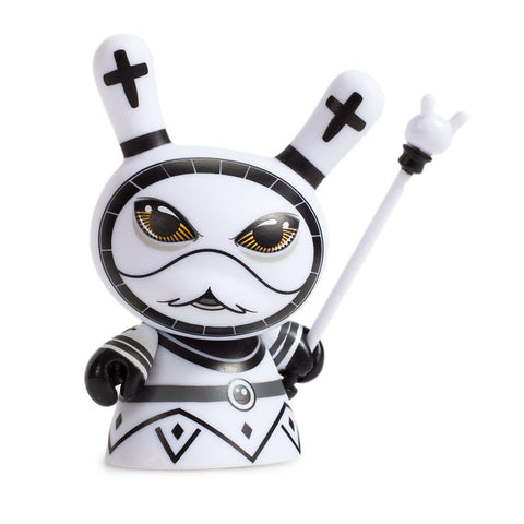 "Shah Mat Chess Piece Series by Otto Bjornik - 3"" Dunny Mystery Mini Figure 2 Packs: Case of 8 Blind Boxes"
