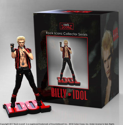 Billy Idol - Rock Iconz Limited Edition Statue - Pre-Order