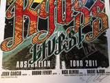 Kyuss Lives - Signed Australian Tour 2011 Limited Edition Print