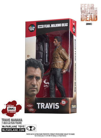 "Fear The Walking Dead - Travis Manawa 7"" Figure"