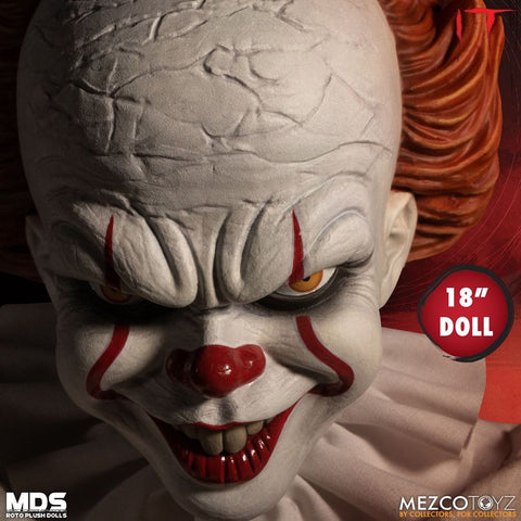"It (2017) - Pennywise Roto Plush 18"" Doll - Pre-Order"