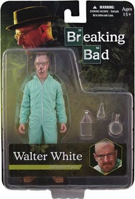 "Breaking Bad - Walter White Blue Hazmat Suit Exclusive 6"" Action Figure"