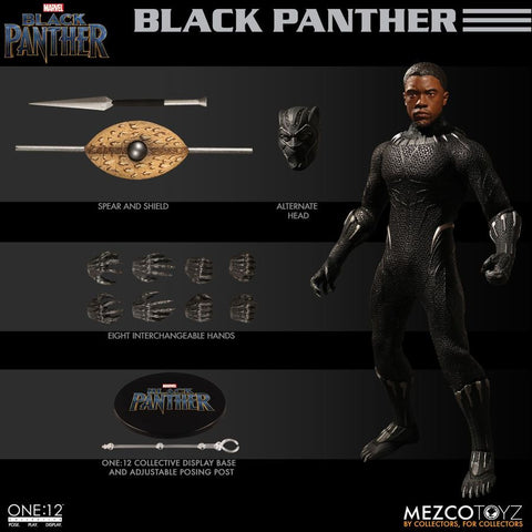 Black Panther - Black Panther One:12 Collective Action Figure - Pre-Order