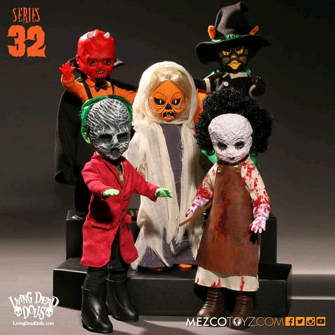 Living Dead Dolls - Series 32: Set of 5
