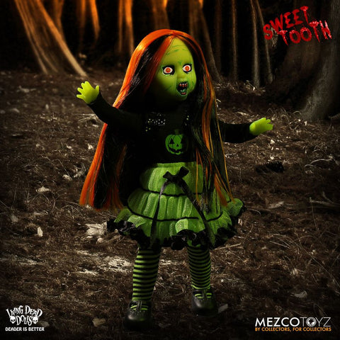 "Living Dead Dolls - Sweet Tooth Green Variant 10"" Doll"