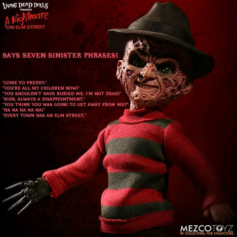 Living Dead Dolls - Freddy Krueger with Sound