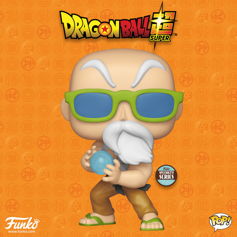 Dragon Ball Super - Master Roshi Max Power Pop! Vinyl Figure - Pre-Order
