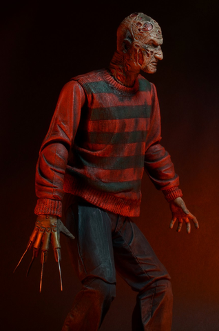 "A Nightmare on Elm St - 7"" Freddy 30th Anniversary Action Figure"