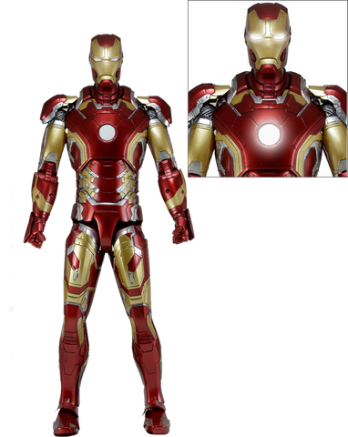 Avengers: Age of Ultron - Iron Man Mark XLIII (43) 1:4 Scale Action Figure