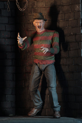"A Nightmare on Elm Street 2: Freddy's Revenge - Freddy 7"" Ultimate Action Figure- Pre-Order"